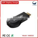 Strong function miradisplay AM8252 wifi display miracast dongle smart tv stick support IOS / Mac / window / android system                                                                         Quality Choice