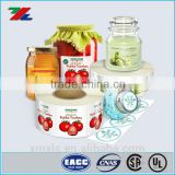 Food Label / Jar Label sticker printed / Custom printed for adhesive label