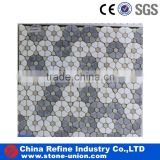 Beautiful water jet marble mosaic tiles flower pattern                                                                                                         Supplier's Choice