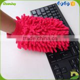china factory cleaning microfiber chenille glove for car and household