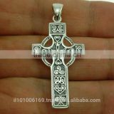 Celtic Silver Cross Pendant, pn105