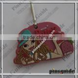 Hot Sale 2014 Personalized Promotional PVC San Francisco Keyring