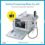 CE Approved PRUS-9618FV Veterinary Use Portable Ultrasound Scanner/Ultrasonic Machine