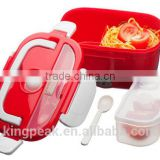 2016 New Hot Sale Electric Heated Portable Compact FOOD WARMER Lunch Bento Box/Plastic heated food warmer container