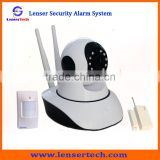 Intelligent Security Dome Camera IP alarm / Video WIFI network Home Burglar Alarm System                                                                         Quality Choice