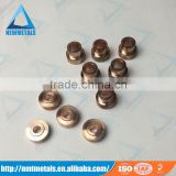 tungsten copper High medium low voltage switch gear contact/load break switch contact/circuit breaker contact