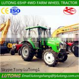 2014 HOT SELL LUTONG 60-65HP 4WD FARM WHEEL TRACTOR/XINCHAI Engine/Shuttle Shift/Gear 12F+12R/CE&ISO