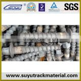 Galvanized railway coach screws/spike screws/railway fasteners                                                                         Quality Choice