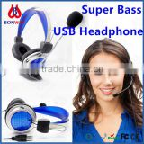 High-quality Stereo USB Computer Microphone Headphone