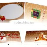 Promotional Christmas Greeting Card, Christmas Lcd Video Brochure Gift On Promotion                                                                         Quality Choice
