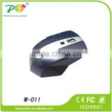 Rechargeable universal remote control wireless mouse with usb docking station for door gift