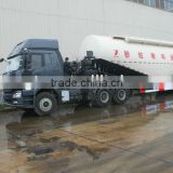 FAW tractor cement,pulverized fly ash coal ash powder tank truck cement tank trailer factory tanker refiting