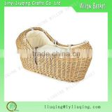 Nursery Decor bassinet Natural wicker baby basket wicker moses basket willow baby shower gift baskets