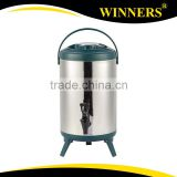 Keep Warm Heat Insulation Stainless Steel Water Bucket with Faucet