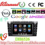 "ASTRA/ZAFIRA/VECTRA/CORSA DH6526 6.2"" 2din HD car DVD player with GPS,Bluetooth,Radio,TV,3G,DVD,iPod,Games,etc for OPEL"