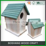 Garden Colorful Wild Bird House Wood Box