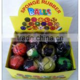 Rubber ball solid elastic ball pinball toy football basketball tennis ball toy saidsgroupsdirector toy