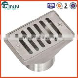 Swimming pool spa pool fitting accossories 2'' drain gutter cover stainless steel gutter drain