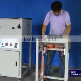 hot melt/self adhesive gluing machine For pvc , cardboard , photo paper