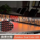 P10 Red Blue Dual Color Bus Advertising Screen, free xxx movie