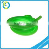 100% Eco-friendly Customized Sizes Colours FDA Medica Flexible Soft Elastic Silicone Hollow Tube