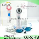 beauty equipment led machine for skin rejuvenation , 5 in 1 Ultrasonic Photon Therapy Ion used for care your skin
