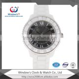 elegance ceramic watch sapphire crystal bezel ladies watch