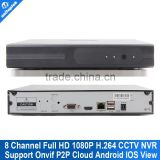 2015 new H 264 Full 1080P 8 Channel CCTV Security NVR HDMI Support 2MP IP Camera 8Ch NVR Recorder P2P Cloud Max To 4TB