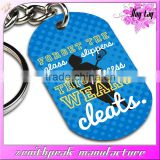 oxidized aluminium dog tag,custom oxidation metal military pet tag,colorful anodized dog tag
