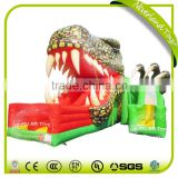 NEVERLAND TOYS Inflatable Crocodile Slide Large Outdoor Slide Inflatable Crocodile Shape Slide Popular for Sale