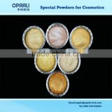 high quality golden color pearl effect pigment powder for eyeshadow