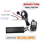 Motorcycle Brake&Turn Signal Function LED Light Remote Controller for Motorcycle Auto LED Lighting System FCC