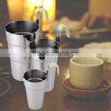 Japan Made Product All Stainless Japanese Sake Cup It is Traditonal Tools