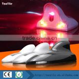 China supplier Strobe Solar LED automatic Laser Shark Fin Fog Lamp Antenna Style Laser Taillight