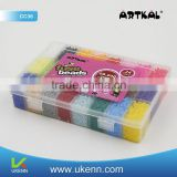 ARTKAL soft fuse beads C-2.6MM 66600 beads/box 36colors faith charm bracelet beads earring findings components