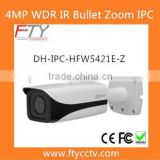 DH-IPC-HFW5421E-Z 4.0MP 120dB WDR Outdoor IR Bullet P2P Dahua Camera With Audio