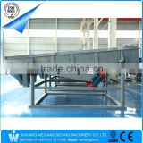 rectangular linear vibrating sieving machine for glass cullet