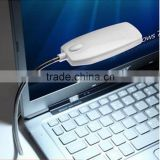 1pcs white Bright 28 LED USB Mini Light Flexible Computer Lamp Laptop PC Desk Reading pink new arrvial