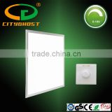 Green Indoor Lighting Fixture Anodized AL Frame 200-240V AC 50,000 Hours LP70 0-10V Dimmable LED Panel 600x600 40W