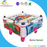 New arrival indoor coin operated game machine classic superior 4 people air hockey table