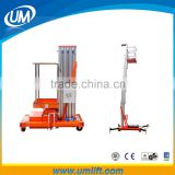 Convenient And Narrow Safety Electric Motor Control Portable Lift Work Platform Equipment With Lifting 6-12 Meters