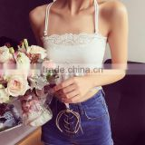 New summer camisole top form bra, fashion cross security vests, halter tops tees bra top womens vest