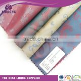 55polyester 45viscose/polyester viscose fabric/inner lining fabric for leather bags and man's suit