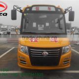 Cheap price 19 passengers school bus for sale school bus air conditioner pupil school bus