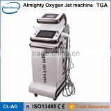 Professional 2016 Latest Model Skin Whitening Jet Peel Facial Oxygen Inject Machine Diamond Dermabrasion Machine