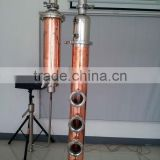 copper home alcohol distiller with electric heating