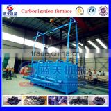 China Best Supplier New Developing Carbonizing Oven/charcoal Production Line/wood Charcoal Making Machine