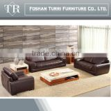 European style Italian split leather sectional sofa home sofa