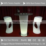 led lighting luminous ice bucket , Fashion outdoor led furniture LED Cocktail Table for LED Event Lighting