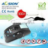 Aosion Ultrasonic Indoor Use Pest Repeller for Ideal Control Rats, Roaches, Insects, Mosquitoes, Small Rodents and More